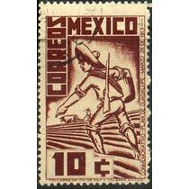 0157 México Plan Guadalupe Ordinario 10c Mint N H 1938