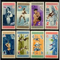 1403 Olimpiadas 56 Melburn #2 R Dominicana 8 S Mint N H 1956