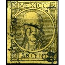 1419 Clasico Con Punto Imp Dto México #1 69 50c Usado 1869