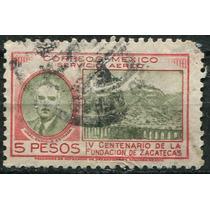 1584 México Centenario Fundación Zacatecas $5 Usado 1946