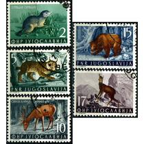 1722 Yugoslavia Scott #398 Fauna 5 Elloss Cto L H 1954