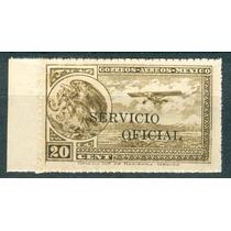 Sc Co27 Año 1933 Escudo Y Avion Servicio Oficial