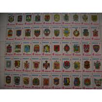 Timbres Postales Edicion Vs Tuberculosis 1966 Escudos Estado