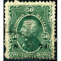 1839 Clásico Hidalgo Scott #110 Chihuahua #8 74 50c Usado