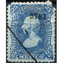 1916 Clasico Scott #120 Guadalajara #3781 25c Usado 1881