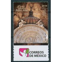Sc () Año 2014 Palacio De Bellas Artes 80 Años Con Logo De