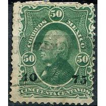 1913 Clasico 1° E Sco #110 Tampico #40 75 50c Usado 1875