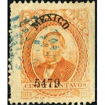 1932 Clásico Scott #125 P G Liso México #5479 5c Usado