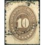1986 México Numeral Scott #205 Lila 6° E 10c Usado 1887