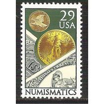 1991 Estados Unidos Usa Numismatica Monedas Sello Nuevo