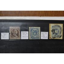 Colombia. Lote De 3 Estampillas. Años 1877 A 1903