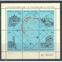 L487-argentina S/s Centenario De La Cd De La Plata Nueva-