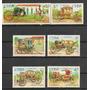 Cuba Carruajes Antiguos 6 Estampillas Diferentes Lqe