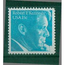 Timbre De Robert F. Kennedy ( Estados Unidos )