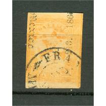 Sc 23 Año 1864 Aguila Iii Periodo 2 Reales Dist 213 Puebla
