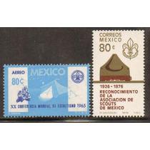 Timbres Mexicanos De Los Scouts ( Mexico )