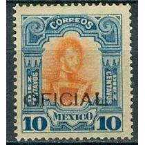 Sc O80 Año 1911 Oficial Ignacio Allende 10c