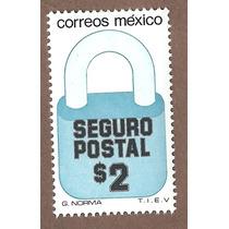 Exporta Seguro Postal Candado $2 5ta Serie Nueva