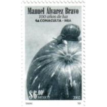 Timbre Del Fotografo Mexicano Manuel Alvarez Bravo ( 2002 )