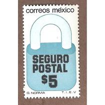 Exporta Seguro Postal Candado $5 5ta Serie Nueva