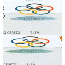 Sc 1555 Año 1988 Hoja Souvenir Seul 1988 Diferencia De Color
