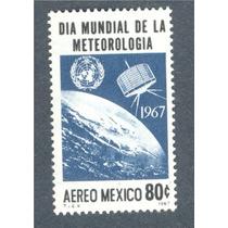 Dia Mundial Meteorología Satélite Espacio Mexico 1967
