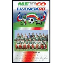 México : Campeonato Mundial De Fut Bol Fifa Francia 1998 Sp0