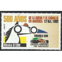 1992 Formula 1 Gran Premio De México Sello Mnh Sc. 1722