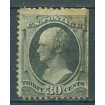 Sc 165 U.s. Año 1873 Alexander Hamilton 30c