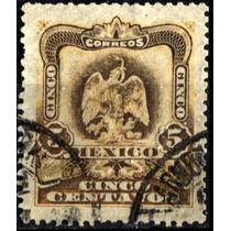 2174 Revolución Oxidación Café 2° Serie 5c Usado 1903