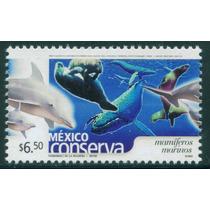 Mexico $6.50 Mamiferos Mar. Romo Conserva 2005 Envio Gratis