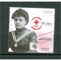 Sc 2672 Año 2010 100 Años Cruz Roja Mexicana