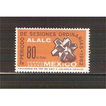 1963 Mèx Asociación Latinoamericana Libre Comercio Alalc Mnh