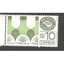 Est México Exporta Tequila $10.00 8va Serie Nueva Olivo