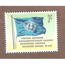Naciones Unidas Bandera De La O N U