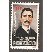 Mexico Pintura De Pino Suárez 1970