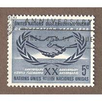 Naciones Unidas 20 Aniversario 1965