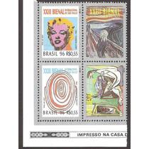Brasil Estampillas Xxiii Bienal Sao Paulo Pinturas Famosas