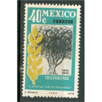 Sc 1042 Año 1972 Chilpancingo Capital De Guerrero