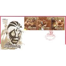 2011 Sobre Primer Dìa Mil Mâscaras Iconos De La Lucha Libre