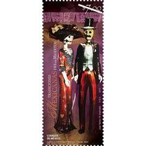 2010 Tradiciones Mexicanas Día De Muertos Sello Nuevo