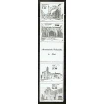 1983 Monumentos Coloniales Mèxico 4ta. Serie Tira Mint Nh