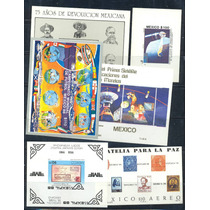 Ssm4- 6 Hojas Recuerdo De México Nuevas-vbf