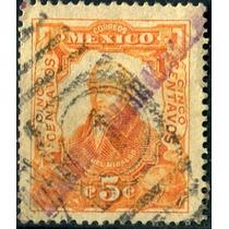 2562 Revolución Gomigráfo Tipo#1 Torreón 5c Usado L H 1914