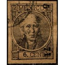 1776 Clasico Hidalgo S L Potosí #5 71 Con Punto 6c Usado