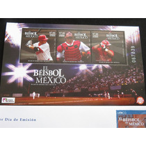 Estampilla Y Sobre Diablos Rojos De Mexico Beisbol 2005