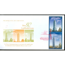 Sc 2514 Y 2515 Sobre Año 2006 50 Años De La Torre Latinoamer