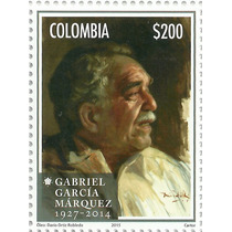 2015 Colombia Gabriel García Márquez Premio Nobel Literatura
