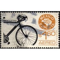 0206 México Exporta 2° E Bicicletas $1.60 Usado 1980
