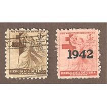 Cuba Lucha Contra Tuberculosis Pro Hospitales 1941 Y 1942